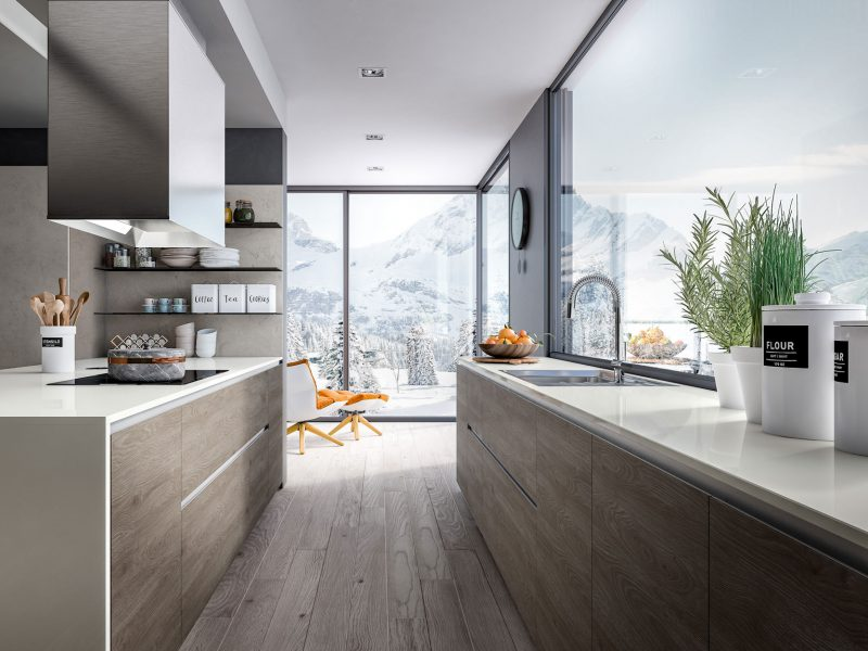 Cuisine Pascal Beaulaigue collection Rio - Agencement 43 Riotord, dressing salle de bain cuisine