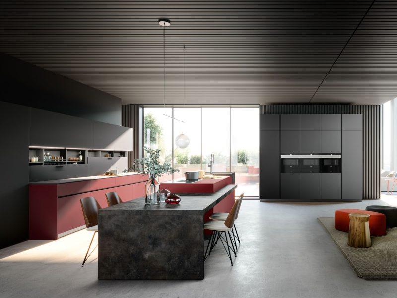 Cuisine Pascal Beaulaigue collection Tarn - Agencement 43 Riotord, dressing salle de bain cuisine